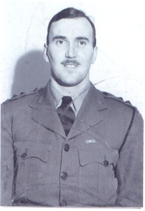 Albert George Anderson, he was a son of Absalom (V) Anderson and Louise (Walters) Anderson, his first wife, in Moose Jaw, Saskatchewan, Canada. He was a Captain in the Canadian Army Overseas during World War II, and he was married to Helen McIntire.