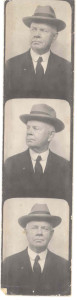 Attorney Bruner Rollin Anderson (uncle of Mrs. DuLaney and others) when he was older, retired, and living at Linthicum Heights, Maryland. DE: 39,90,91,92,113,114,