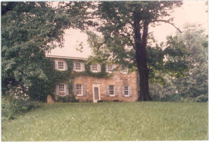 Until recently, this still standing stone home at Marriottsville, Howard County, Maryland, was erroneously thought to have been the home of Thomas Anderson and his son, the older Isaac Cord (I) Anderson; instead, their home was another still standing stone home, somewhat similar in construction and age, that is located across Driver Road in the same general vicinity.