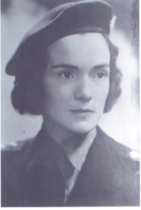 Joan Isabelle Anderson, the nurse daughter of Absalom (V) Anderson and his first wife, Louise Walter Anderson, who lived her entire life at Moose Jaw, Saskatchewan, Canada, except when she was in school or on duty as a Canadian Army Nurse Overseas during World War II. Her military career during that conflict is summarized on page 143 of Mrs. DuLaney's Anderson genealogy as well as in an article, with her picture, in one of the printed newsletters put out about the year 2000 by The Grassland Foundation, Inc