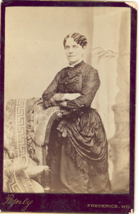 Louisa Priscilla (Woodward) Anderson (wife of Absalom (III) Anderson). DE:82.