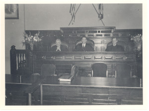 Marvin I Anderson seated on right