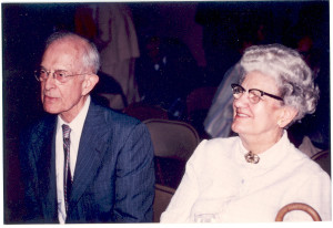Marvin Isaac Anderson and his wife, Geneva Hauser Anderson, parents of Marvin H. Anderson and Richard G. Anderson. Mrs. Anderson had been a high school teacher at the earlier Arundel High School (successor of the Anne Arundel Academy) at Millersville, Anne Arundel County, Maryland