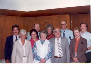 """""""Anderson Dinner in Pasadena, CA, circa 1982"""
