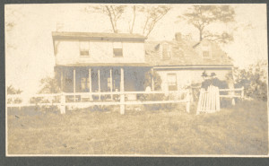 "Brooksbys Point, the old Marriott-Sewell homestead located off of Old General's Highway a little ""behind"" Old Dorr's Corner off of Md. Rte. No. 178 near Severn Cross Roads, where the family (widow and children) of William Henry Anderson, Sr., lived during the period circa 1900 to circa 1920, give or take, after they relocated there when the Old Woodward Home (in which they had been living) at Severn Cross Roads burned circa 1900."