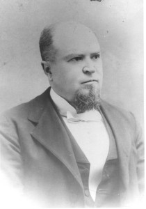 """The Reverend Isaac White Canter, pastor, M. E. Church South, who had married, as his second wife, Miss Margaret Jane Hall, a daughter of Absalom Hall and Julia Beard Hall, of Halls Grove Farm on Davidsonville Road at Rutland, Gambrills, Maryland, while the Reverend Canter was the pastor of the nearby St. Paul's Church (M.E., South) on Davidsonville Road at today's Crofton. (The photograph is marked: """"25 Oct. 1895.) The Reverend Canter also served churches in Baltimore City and elsewhere. This Canter couple left a rather distinguished line of progeny, primarily in Virginia (to which they ultimately relocated). They had three sons and one daughter, and each of them had a distinguished career: one became Dean and Professor of Chemistry at Randolph-Macon (Mens) College at Ashland, Virginia, and he served as national President of Phi Beta Kappa (the academic honorary fraternity), another became an honored minister in the Methodist Church, and a Doctor of Divinity, and the third son became a medical doctor practicing for many years in Harrisonburg, Virginia. They were and are all descendants of Ann Duckett (Anderson) Hall and Thomas Hall, her husband, of Glen Dale, Maryland (part of the Absolom (I) Anderson """"line"""" in the family)."""
