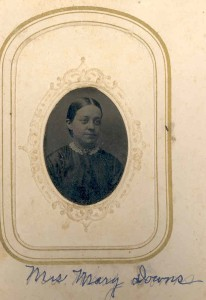 Mary Downs - sounds Odenton, but not sure who she was. Unless this is of Mark Downs, of Millersville
