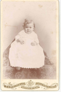 """Moler A. Duff, Sr. Son of the couple last above mentioned. He and his family lived at Galloway, Ohio, and he was a locomotive engineer on the """"Big Four"""" Railroad and was a prominent Scottish Rite Mason. He married and had a family."""
