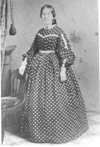 """Martha Thomas Hall - DE:6,7,11,81. She was the unmarried daughter of Ann Duckett (Anderson) Hall and Thomas Hall, her husband. She was """"Aunt Pat""""."""