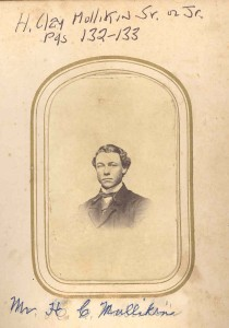 """H. Clay Mullikin, Jr., whose wife, Margaret (""""Mattie"""") W. Beall, was the daughter of Lemon Beall, Sr., and Anna Regina (Anderson) Tucker Beall, of Davidsonville, MD. DE:84."""
