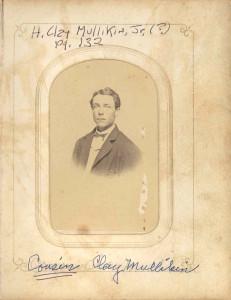 H. Clay Mullikin Jr. or Senior DE 84