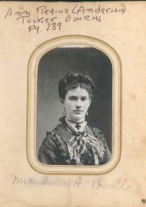 Ann Regina (Anderson) Tucker Beall DE 82, 84