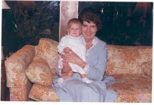 "Allison Rose and Maxine (McDonald) Cooke Garvie. Great granddaughter of Amanda (Anderson) McDonald and grand niece of Amanda's daughter, Maxine. We have ""met"" Amanda and Maxine earlier. Allison Rose is a daughter of Janet (McDonald) Rose, niece of Maxine Garvie. The Roses live near Houston, Texas."