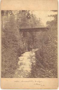 Upper Cascadill Bridge, Ithica NY