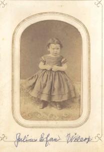 Julia Aefan Wilcox. Not further identified.