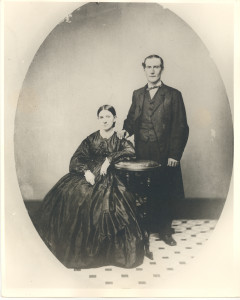 "Henry Woodward (of Rignal Duckett Woodward) and Margaret (Anderson) Woodward. DE: 14,21,22,25,26,29,40,44,45,78,94,95. Their ""Civil War""-time marriage reunited, in marriage, two separately descended branches of the Woodward family, of Woodwardville, and that at Severn Cross Roads and Waterbury, respectively. At the time of their marriage at the old Johns Hopkins birthplace, Henry's father was the ""war-time"" Sheriff of Anne Arundel County. Later both the father and the son, at different times, served as Chief Judge of Anne Arundel County's probate court (Orphans Court)"