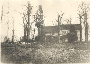The old (former) Anderson home on Providence Plantation at Woodwordville, Md. at the end of circa of World War II