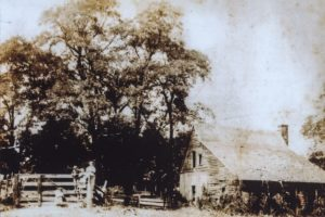 One of the Old Slave Quarters at Grassland. This one no longer stands.